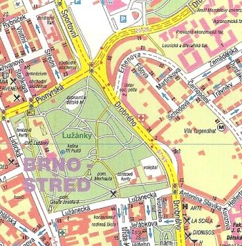 stadtplan br nn brno landkarte tschechien freytag berndt online kaufen bei. Black Bedroom Furniture Sets. Home Design Ideas
